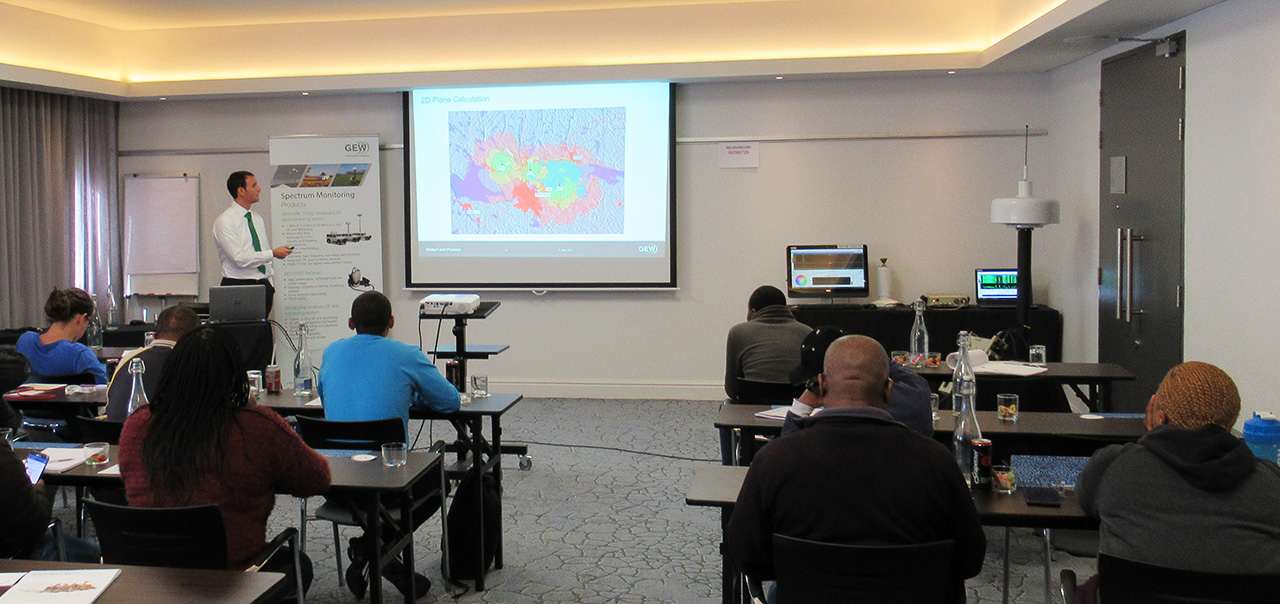 GEW Presents Spectrum Monitoring and EMC Training