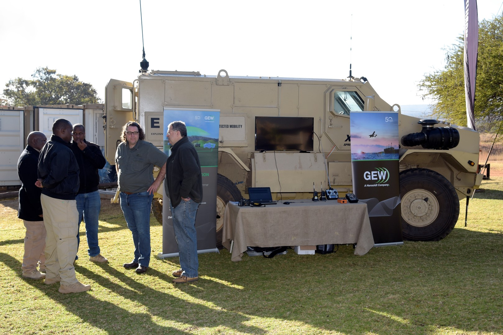 GEW demonstrates GMJ9 force-protection jammer