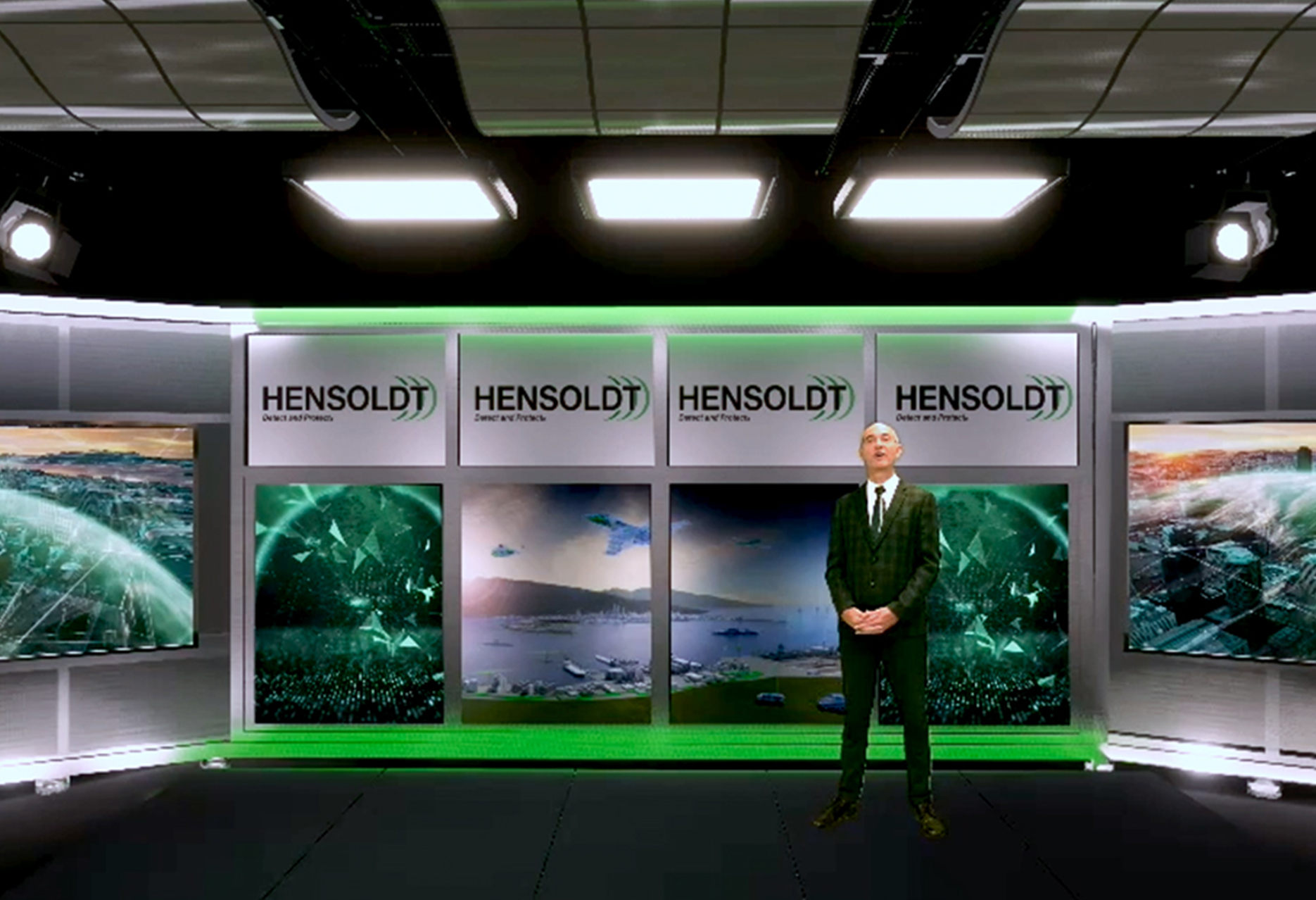 HENSOLDT presents its expertise on border security solutions