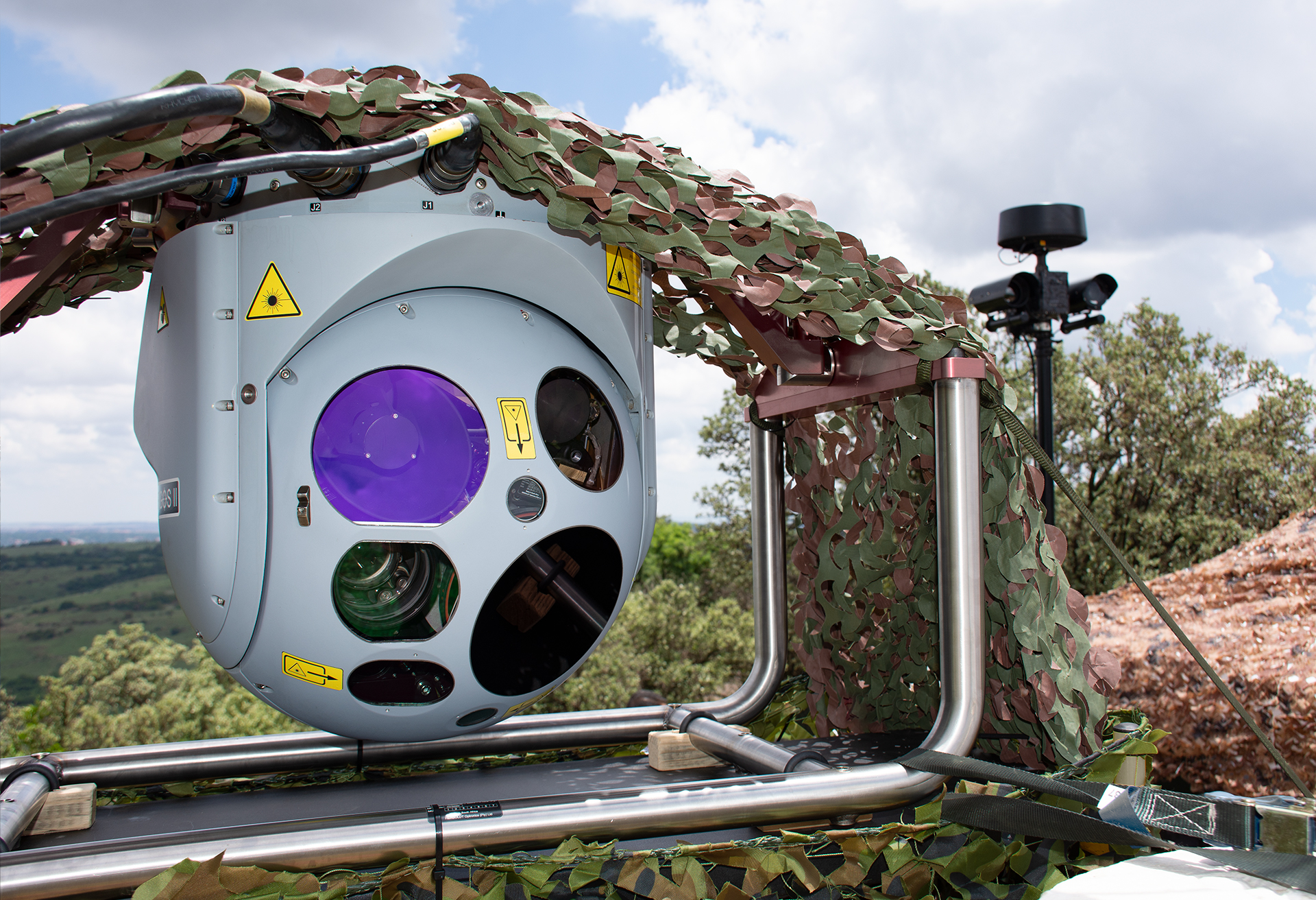 HENSOLDT receives ARGOS-II order from Thuringia State Police